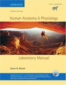 Human Anatomy & Physiology Lab Manual  Cat Version  Update With Access To Physioex 6.0 (8th Edition)