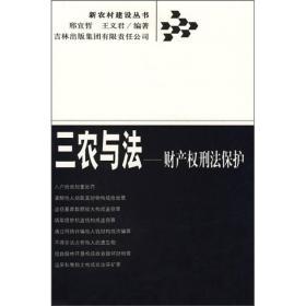 新农村建设丛书:三农与法·财产权刑法保护