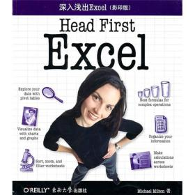 O'Reilly:深入浅出Excel(影印版)