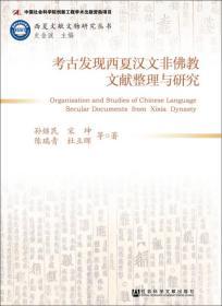考古发现西夏汉文非佛教文献整理与研究