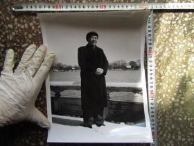 毛主席在雪地里大尺寸文革老照片,新华书店流出的库存货,包老包真!