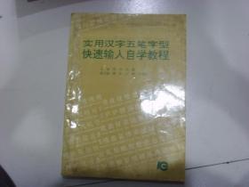 实用汉字五笔字型   快速输入自学教程