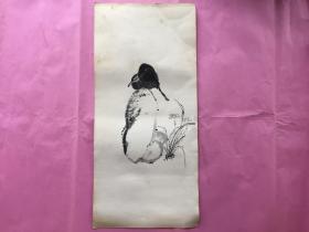 石鸟-特厚书画纸-无款无章