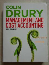 colin drury management and cost accounting 9th 正版