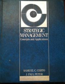 英文原版《战略管理:概念与应用》 Strategic Management: Concepts and Applications