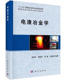 现代冶金与材料过程工程丛书:电渣冶金学