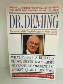 Dr. Deming:The American Who Taught the Japanese About Quality by Rafael Aguayo(日本)英文原版书