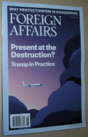 英文原版书 Foreign Affairs Magazine May/June 2017