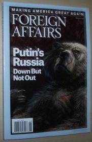 英文原版书 Foreign Affairs 2016 May/June - Puttins Russia: Down But Not Out. By Stephen Kotlin