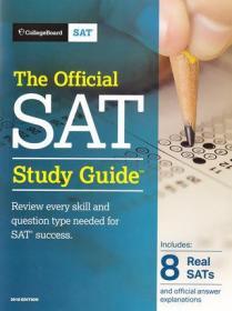 正版 2018 Edition The Official SAT Study Guide 9781457309281