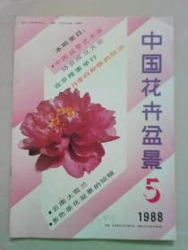 中国花卉盆景 1988年第5期