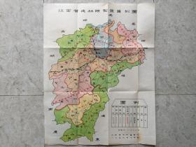 江西省造林类型区区划图