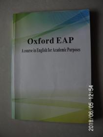 Oxford EAP  A course in English for Academic Purposes  书页有字迹 按图发货 严者勿拍 售后不退 谢谢!