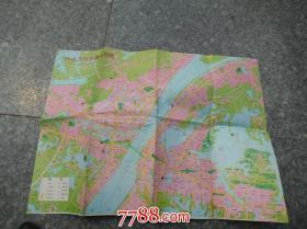 93最新武汉市交通旅游图