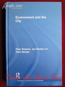 Environment and the City(英语原版 精装本)环境和城市