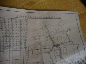 民国手绘地图,<<39x29 >>品图自定