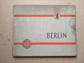 BERLIN (柏林老画册)外文原版