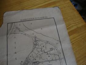 民国手绘地图,<<江湾区 39x29 >>品图自定
