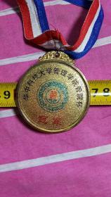 冠军奖牌(华中科技大学管理学院管理杯)