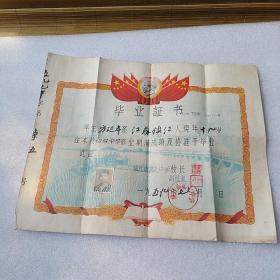 毕业证(1957年')