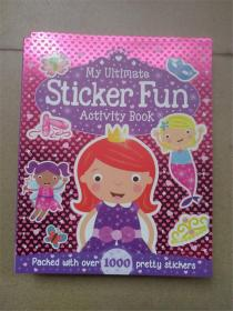 平装 my ultimate sticker fun activity book 手工游戏折纸故事书