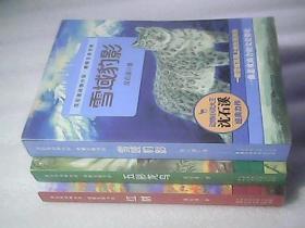 沈石溪动物小说·感悟生命书系:九彩龙鸟、红豹、雪域豹影【3册合售】