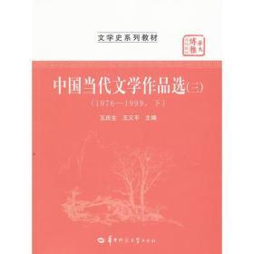 中国当代文学作品选(三)(1976-1999下)