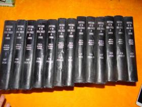 伦敦英国皇家学会会刊 乙:生物部分  精装 馆藏 英文版 13本合售