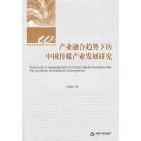 产业融合趋势下的中国传媒产业发展研究