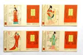 火花卡标:红楼梦(4枚)中国济南火柴厂