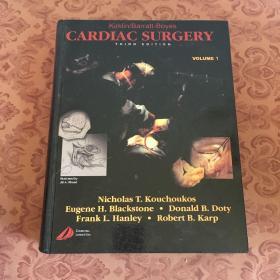 CARDIAC SURGERY [心脏手术】【第三版】【第一卷】请看图,免争议