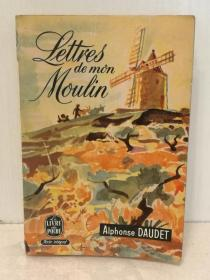 阿尔丰斯·都德 Alphonse Daudet:Lettres de mon moulin Texte intégral 法文原版书
