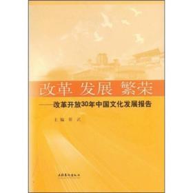 改革.发展.繁荣(改革开放三十年文化发展报告)