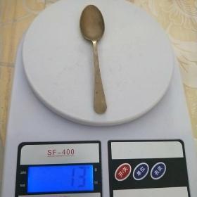 【包老】老物件【铜鎏银勺子】精美带工铜勺,小汤勺,药勺,尺寸重量看图.