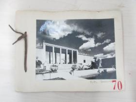 清华大学建筑系旧藏照片资料 EUEL SAARINEN 一套5张 尺寸15×11厘米 尺寸大小不一