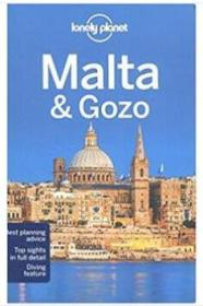 Lonely Planet 马耳他 孤独星球 英文版 Malta & Gozo 2016年版