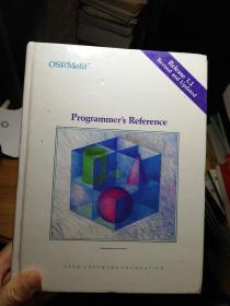 OSF/MOTIF   Programmer's   REFERENCE Release 1.1