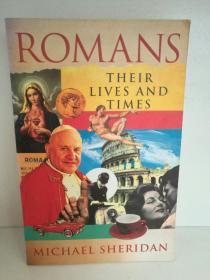 Romans:Their Lives and Times by Michael Sheridan (欧洲/意大利)英文原版书