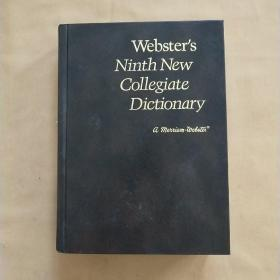 WEBSTERS NINTH NEW COIIEGIATE DICTIONARY  韦氏第九新词典