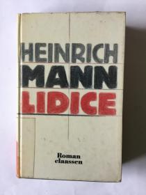 德语原版 《利迪策》LIDICE