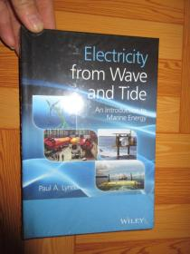 Electricity from Wave and Tide: An Introduction to Marine Energy        (详见图),硬精装,全新未开封