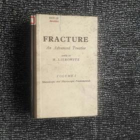 FRACTURE  An Advanced Treatise(裂缝 第一卷 《微观与宏观原理》)