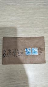 七十年代江西省南昌市邮政实寄封波浪戳