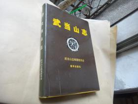 武当山志 大16开精装