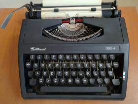 飞鱼牌手提打字机 200-B型