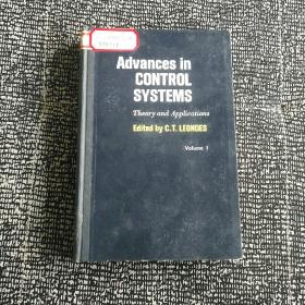 Advances in CONTROL SYSTEMS  Theory and Applications  Edited by C.T.LEONDES VolumeⅠ(控制系统进展 第一卷)