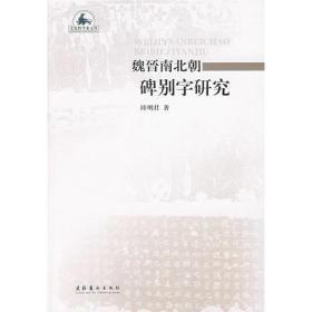 魏晋南北朝碑别字研究