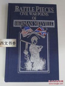2000年美国出版,名著,赫尔曼·梅尔维尔作品《南北战争诗集》 24开精装