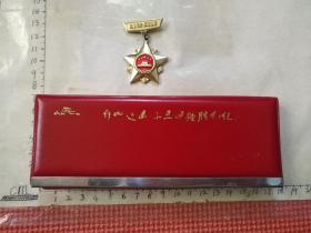 自卫还击保卫边疆胜利纪念笔和纪念章合售(原装 包老保真)少见