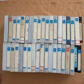 老录像带 好像都是外国电影(生死豪情、烈火激情、迅雷先锋、哥伦布传等 共38盒合售)